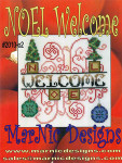 MarNic Designs Noel Welcome 80 x 81
