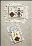 13-1645 Ann Blockley's Pin Cushion & Scissor Keep Pin Cushion: 87w x 63h, Scissor Keep: 47w x 63h Milady's Needle