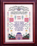 05-1884 Tribute Sampler by Lilybet Designs