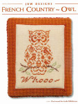 12-1999 French Country Owl 52w x 63h JBW Designs