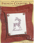 06-2692 French Country V-Reindeer by JBW Designs