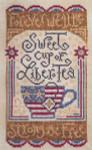 12-2110 Sweet Liber-Tea 66 x 114 Silver Creek Samplers YT
