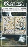 13-1914 Sing A Sampler 3 383 x 73 Silver Creek Sampler  YT