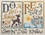 13-1354 Sing A Sampler 1 by Silver Creek Samplers Size: 383 x73
