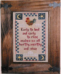 06-2984 Early To Bed Stitcher's Habit, The