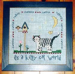00-2360 Kitty Cat World Stitcher's Habit, The
