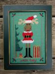 Stitcher's Habit, The Santa Baby Design Size 57w x 91h