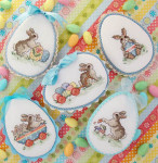 14-1357 Easter Parade by  Sue Hillis Designs