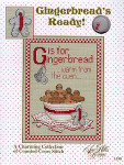 02-2237 Gingerbread's Ready (w/charms) by Sue Hillis Designs