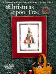 01-2411 Christmas Spool Tree (w/charms) by Sue Hillis Designs