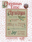 02-2666 Christmas Time (w/charms) by Sue Hillis Designs