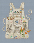 07-1422 Easter Bunny's Apron by Sue Hillis Designs