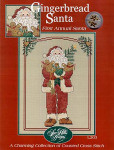 04-3032 Gingerbread Santa by Sue Hillis Designs YT