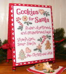 08-2774 Cookies For Santa by Sue Hillis Designs