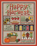 11-1673 Happy Harvest 98 x 126 Sue Hillis Designs