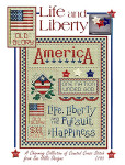 03-1749 Life And Liberty (w/chm) by Sue Hillis Designs