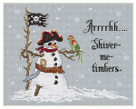 10-1308 Shiver Me Timbers 99 x 125 Sue Hillis Designs