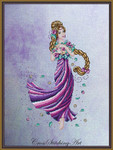 Cross Stitching Art Rapunzel 131w x 204h