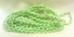 "Dames Of The Needle Spring Green Rick Rack 1/4"" (3yds)"