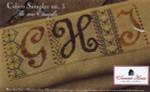 12-1892 SHS-0031 Calico Sampler #3 - GHI 146 x 54 Summer House Stitche Workes