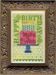 13-1384 Birthday Bits 55 x 86 Erica Michaels