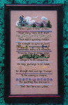 Dragon Dreams Inc. Fairy Tale Sampler Size: 90w x 170h