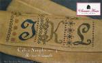 12-2087 SHS-0032 Calico Sampler #4 1- JKL 146 x 54 Summer House Stitche Workes