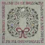 DR174 Drawn Thread (The) The Holly & The Ivy Sampler & Ornament