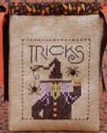 DR191 Drawn Thread (The) Tricky Witch - Trick or Treat Bag