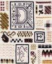 DR111 Drawn Thread (The) Sampler Of Stitches-Part Two