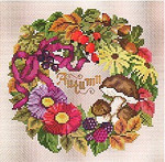 Ellen Maurer-Stroh Autumn Wreath