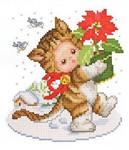 Ellen Maurer-Stroh Christmas Kitten Baby