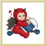 Ellen Maurer-Stroh Little Stitch Devil with Bobbin