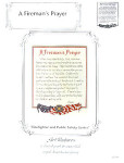 6780 Fireman's Prayer (A) by ArtVentures
