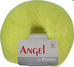 884137 Permin Yarn Angel Neon Yellow