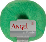 884136 Permin Yarn Angel Neon Green