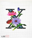 AO1054 Lee's Needle Arts Letter X, Xeranthemum 16 Mesh