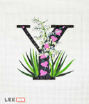 AO1055 Lee's Needle Arts Letter Y, Yucca 16 Mesh