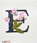 AO1035 Letter E, Erythronium 16 Mesh Lee's Needle Arts