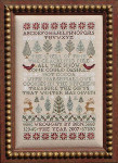 07-2622 Poinsettias And Pines by Blue Ribbon Designs