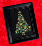 Christmas Tree (w/charms) Size: 56w x 84h Bobbie G Designs
