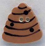 """86129 Mill Hill Button Beehive; 7/8"""" x 7/8"""""""