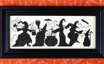 Halloween Season Of The Witches Size: 151w x 54h Bobbie G Designs