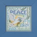 MH142304 Mill Hill Buttons and Bead Kit World Peace (2012)