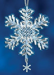 MH162306 Mill Hill Charmed Ornament Kit Ice Crystal (2012)
