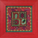 MH142303 Mill Hill Buttons and Bead Kit Tapestry Noel (2012)