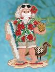 MH202301 Mill Hill Santa Ornament Kit Hawaii Santa (2012)