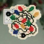MH183305 Mill Hill Seasonal Ornament Kit Christmas Lights (2013)