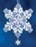 MH162304 Mill Hill Charmed Ornament Kit Sapphire Crystal (2012)