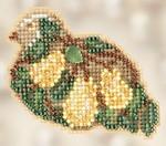 MH182306 Mill Hill Seasonal Ornament Kit Pear Tree Partridge (2012)